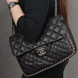 Chanel Chain Around Maxi Flap Luxe Purses