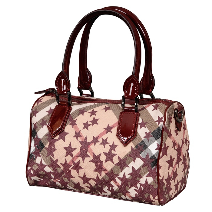 Burberry Nova Stars Chester Bowling Bag