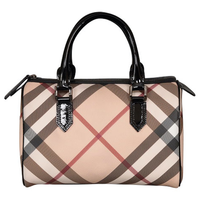 Burberry Nova Check Satchel