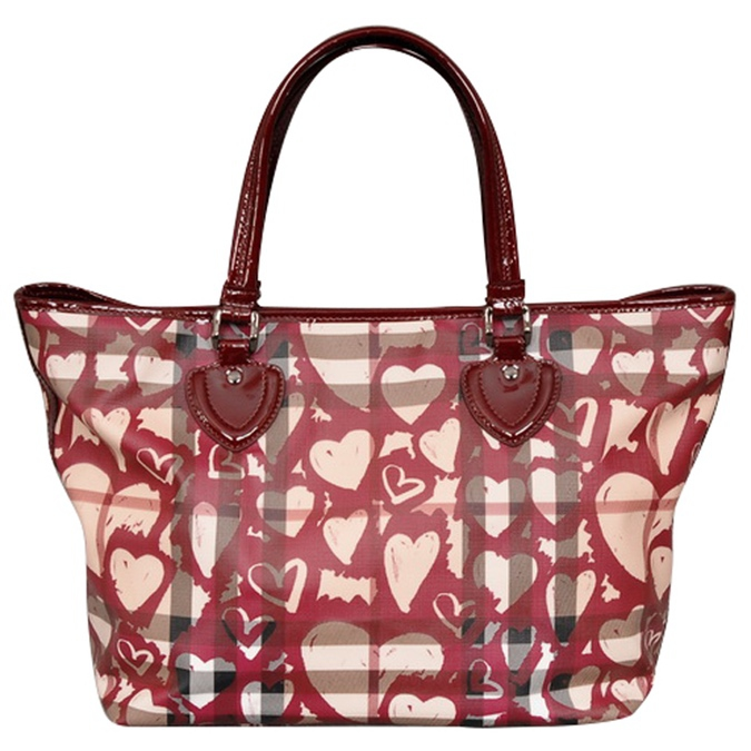Burberry Nickie Hearts Tote