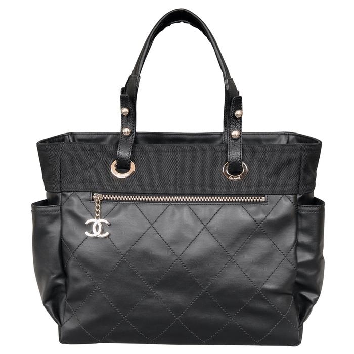 Chanel Paris Biarritz Tote in Black