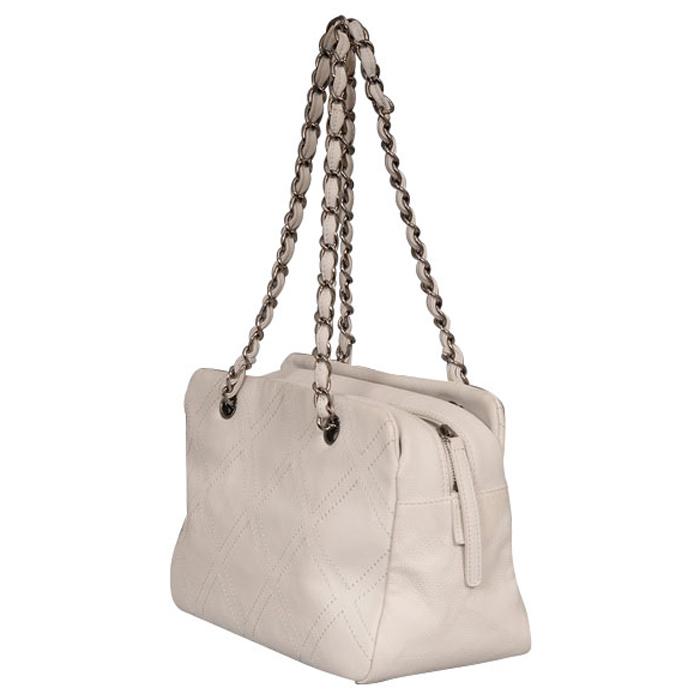 Chanel Diamond Stitch Tote Bag