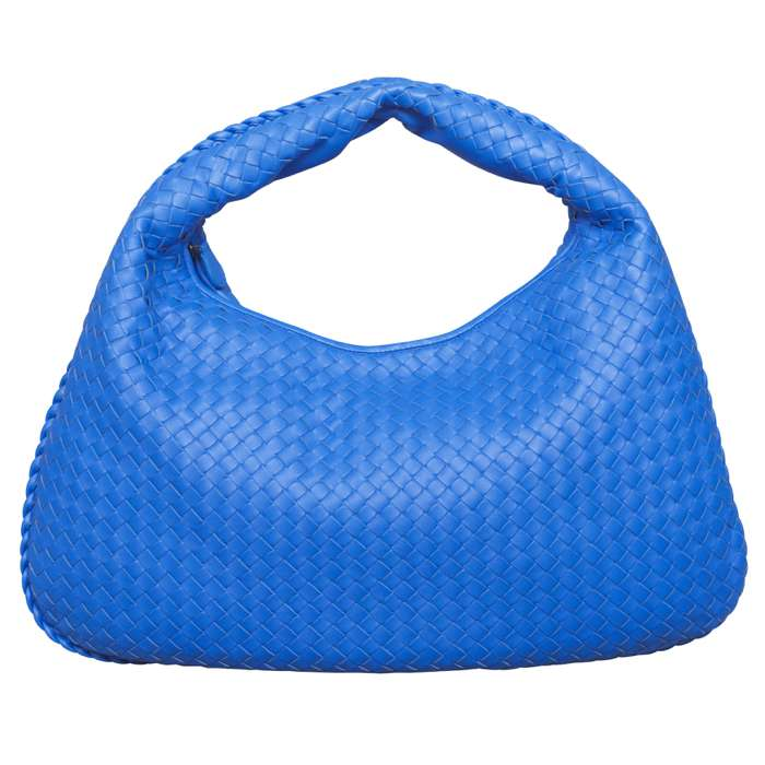 Bottega Veneta Intrecciato Large Hobo in Royal