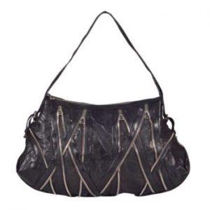 Authentic Balmain XL Zipper Bag for sale at Luxe Purses