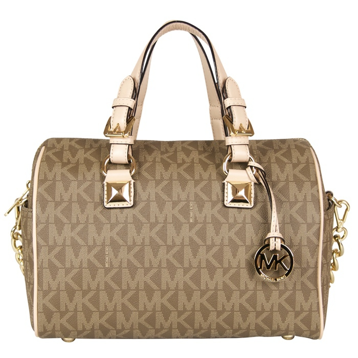 7ce17d14f1ac Click to enlarge. HomeRecently Sold MICHAEL Michael Kors Grayson Chain  Satchel