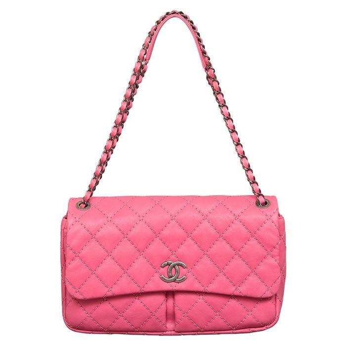 Chanel Stitch it Double Flap Bag