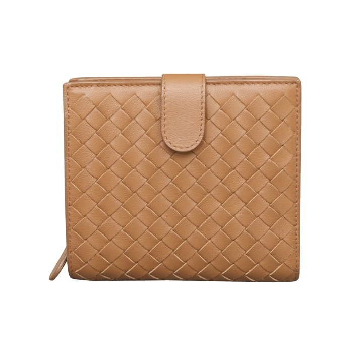Bottega Veneta Intrecciato Nappa French Flap Wallet