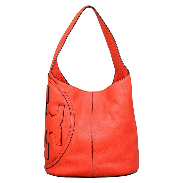 Tory Burch All T Hobo in Poppy Red