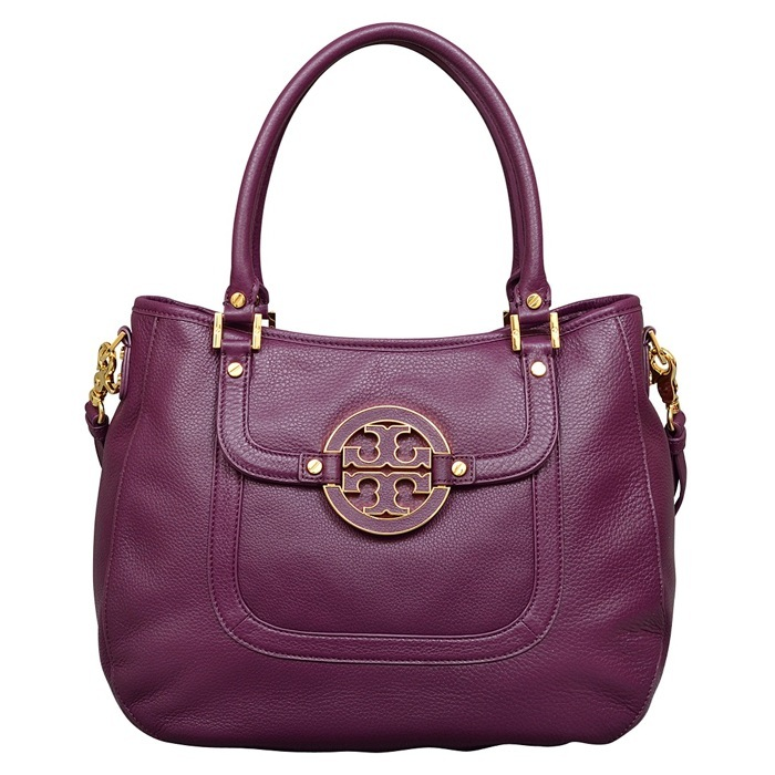 Tory Burch Amanda Hobo in Tribe Violet