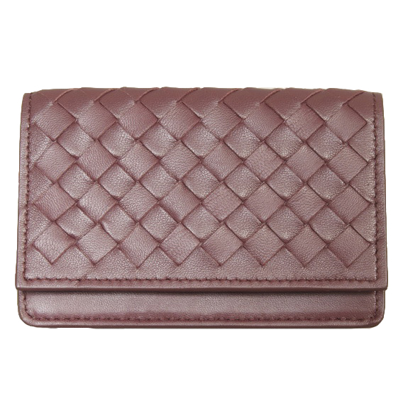 Bottega Veneta Intrecciato Business Card Case