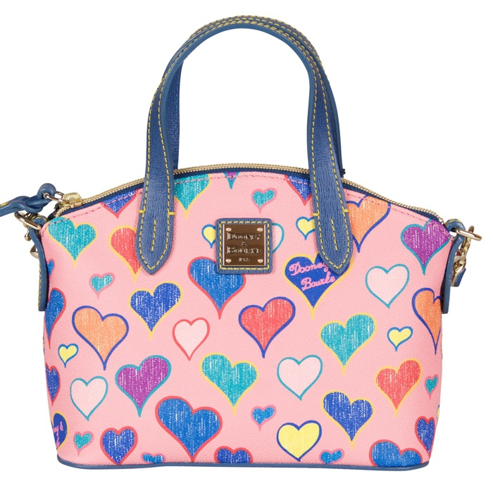 Dooney & Bourke Heart Print Ruby Bag
