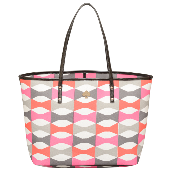 Kate Spade Abstract Signature Bow Tote
