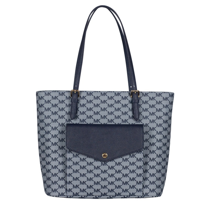 Michael Kors Large Multifunction Pocket Tote in Admiral
