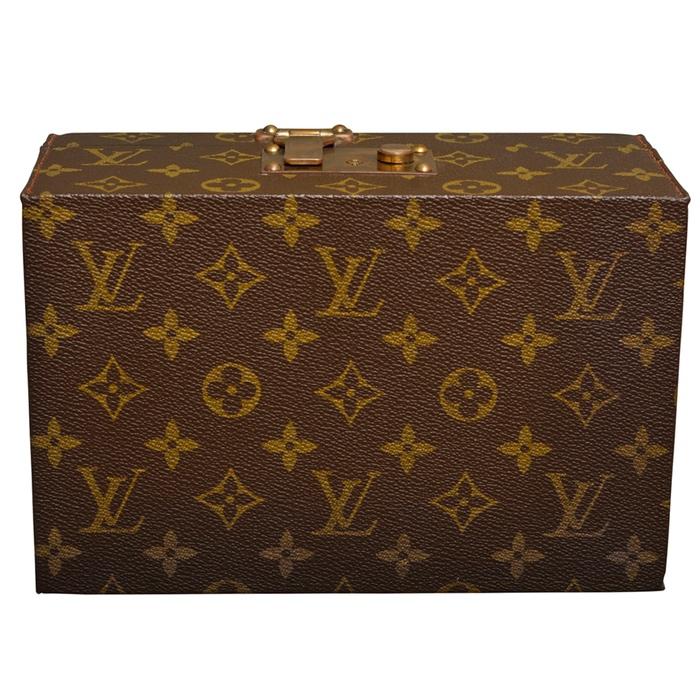 Louis Vuitton Monogram Boite a Tout Jewelry Trunk Case