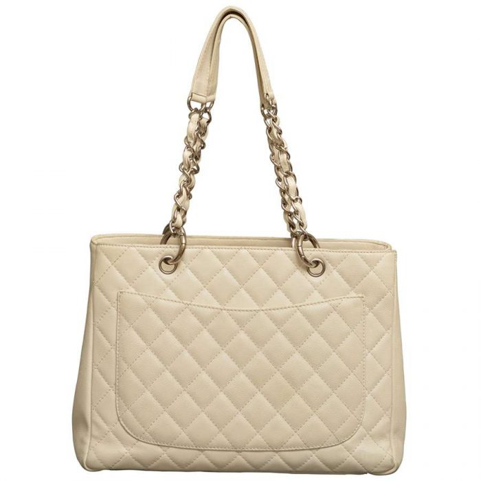 Chanel Caviar Leather Grand Shopping Tote GST