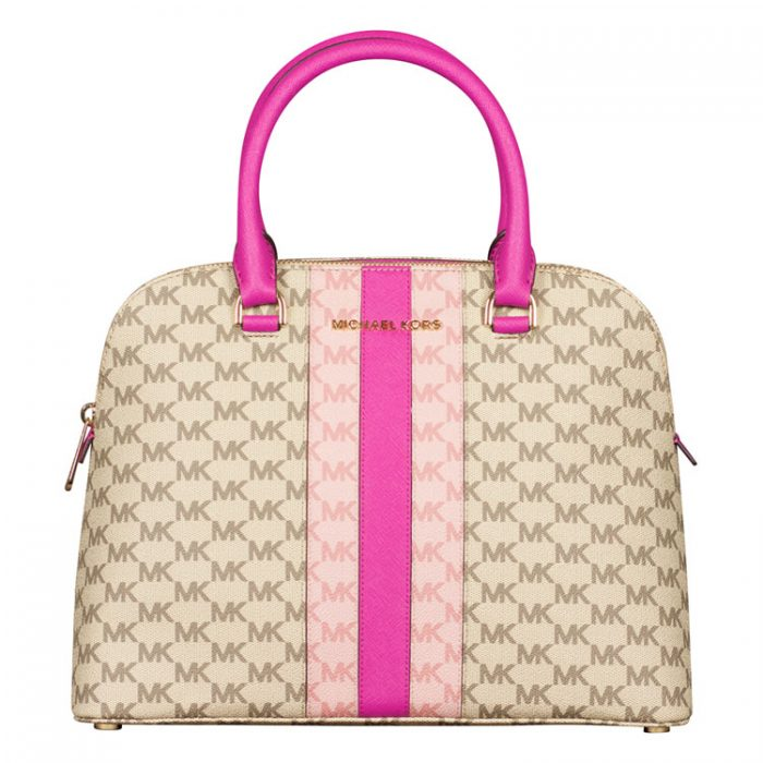 Michael Kors Large Cindy Dome Satchel at Luxe Purses