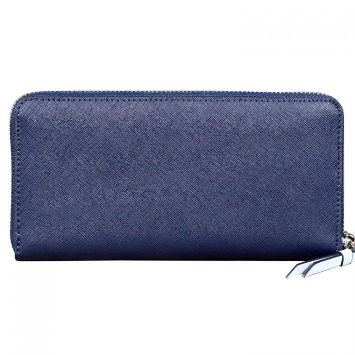 Kate Spade Cameron Continental Wallet in Navy Blue