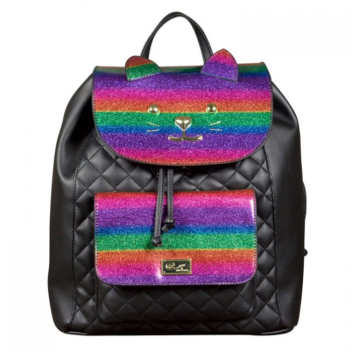 Betsey Johnson Cat Backpack at Luxe Purses