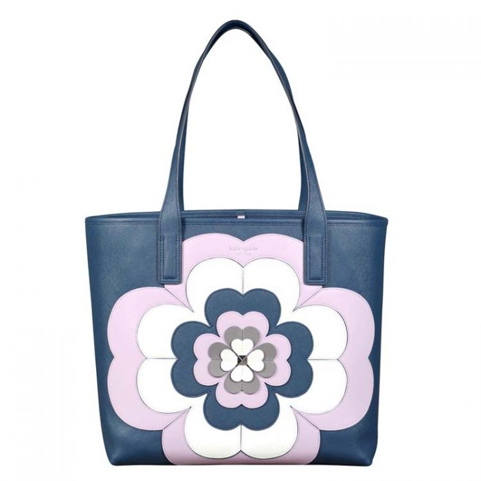 Kate Spade Reiley Spade Flower Applique Large Tote at Luxe Purses