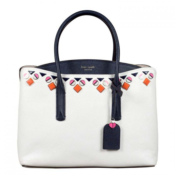 Kate Spade Margaux Jeweled Large Satchel at Luxe Purses