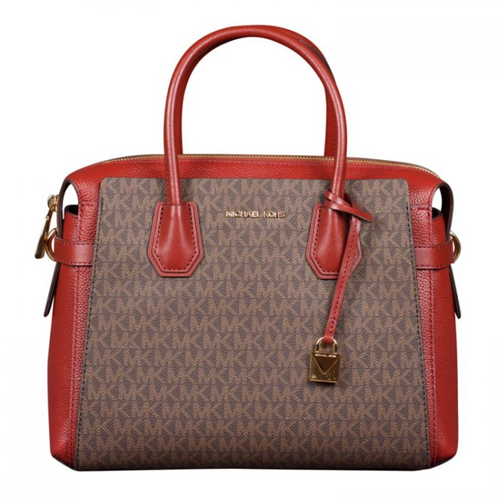 Michael Kors Medium Mercer Belted Satchel