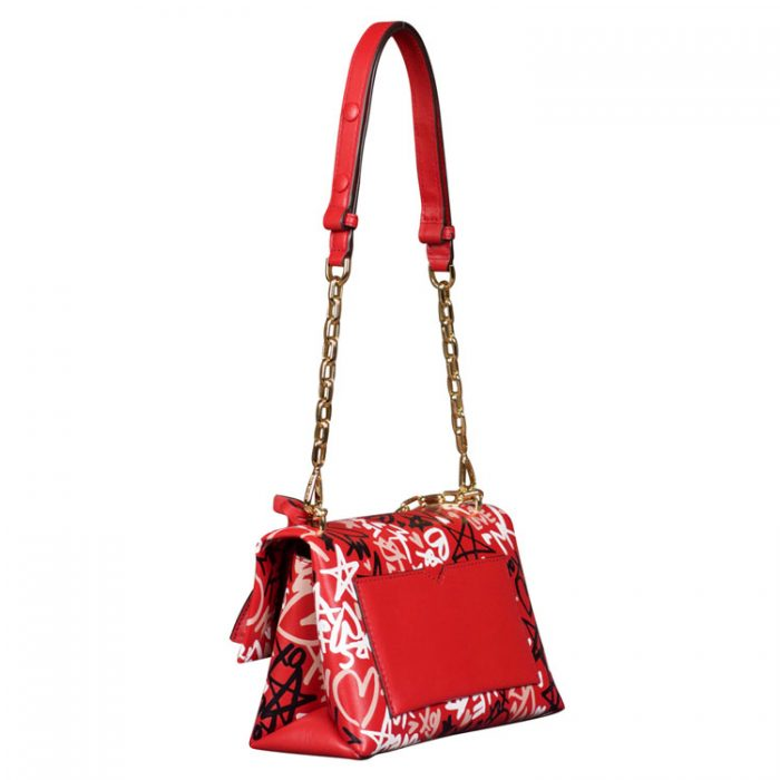 Michael Kors Medium Cece Graffiti Print Bag