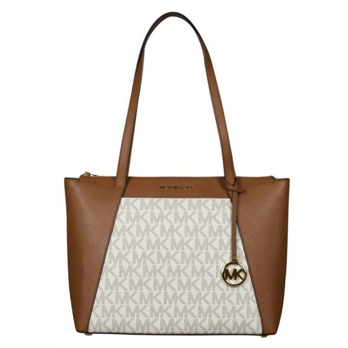 Michael Kors Medium Maddie EW Top Zip Tote at Luxe Purses