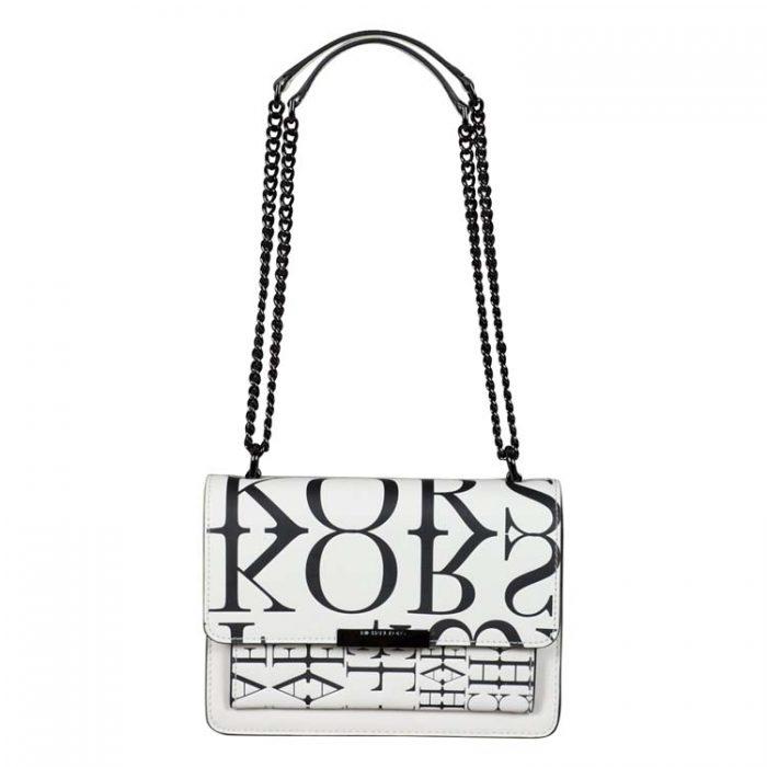 Michael Kors Large Jade Gusset Shoulder Bag for sale at Luxe Purses