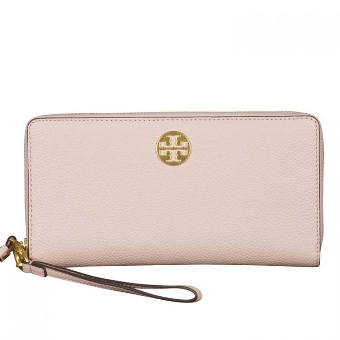 Tory Burch Everly Passport Continental Wallet for sale at Luxe Purses