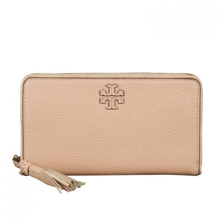 Tory Burch Taylor Zip Continental Wallet for sale at Luxe Purses