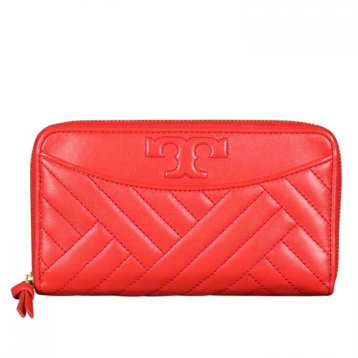 Tory Burch Alexa Zip Continental Wallet for sale at Luxe Purses