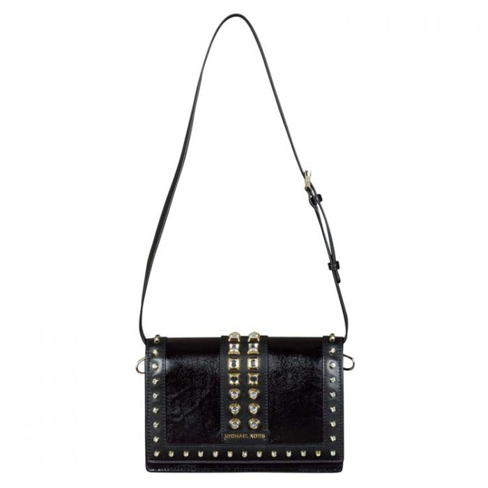 Michael Kors Large Full Flap Chain Crossbody Bag for sale at Luxe Purses