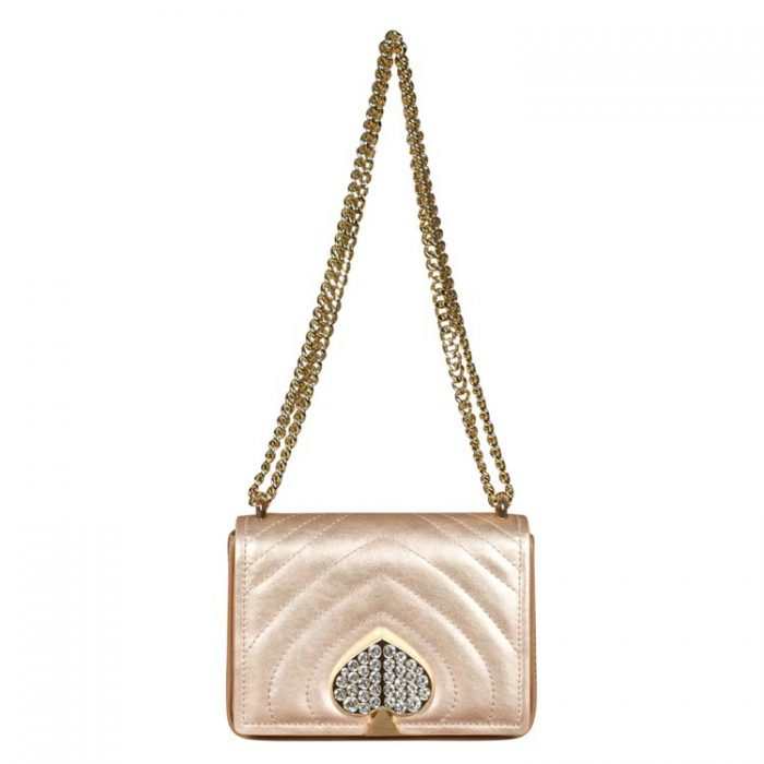 Kate Spade Small Amelia Jeweled Shoulder Bag for sale at Luxe Purses