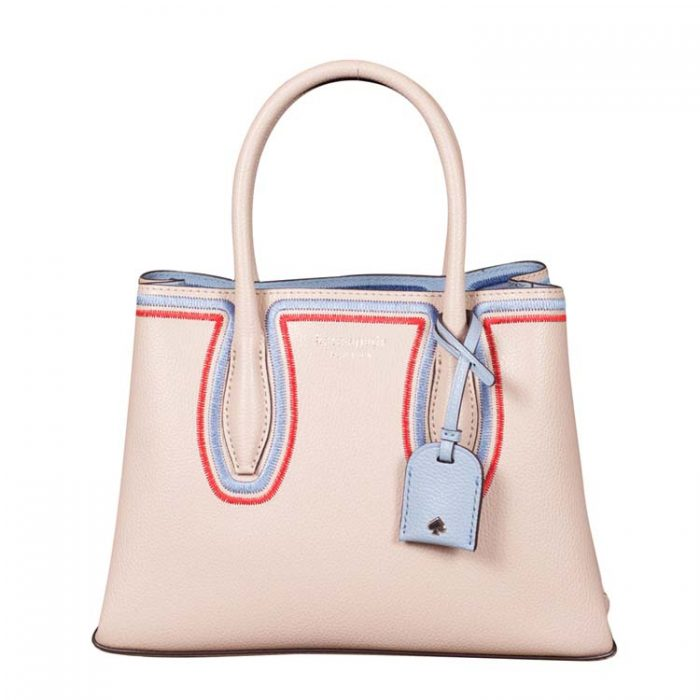 Kate Spade Small Eva Embroidered Satchel
