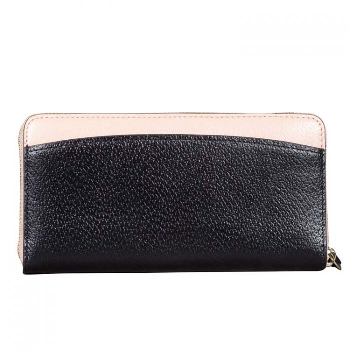 Kate Spade Jeanne Continental Wallet in Pink Black