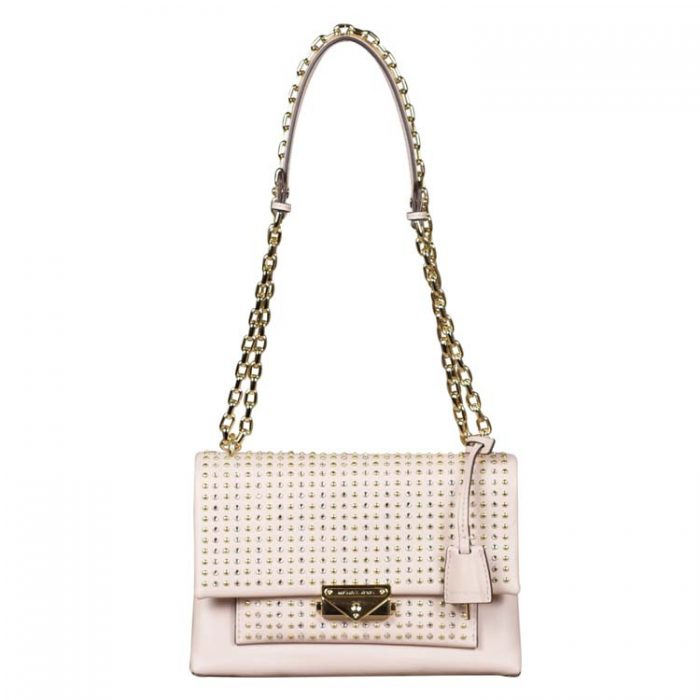 Michael Kors Medium Cece Chain Shoulder Bag in Soft Pink