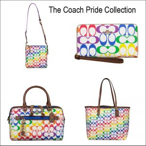 Handbags from the Coach Pride Collection for sale at Luxe Purses