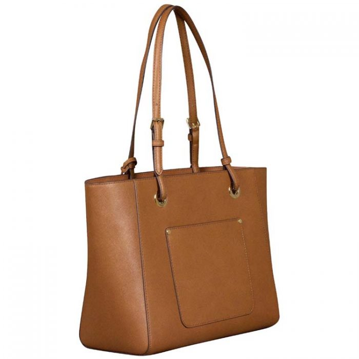 Michael Kors Medium Walsh Multifunction Tote in Luggage