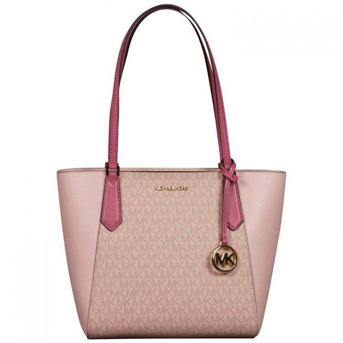 Michael Kors Small Kimberly Bonded Tote in Tulip