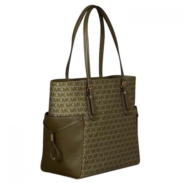 Michael Kors Voyager EW Tote in Olive