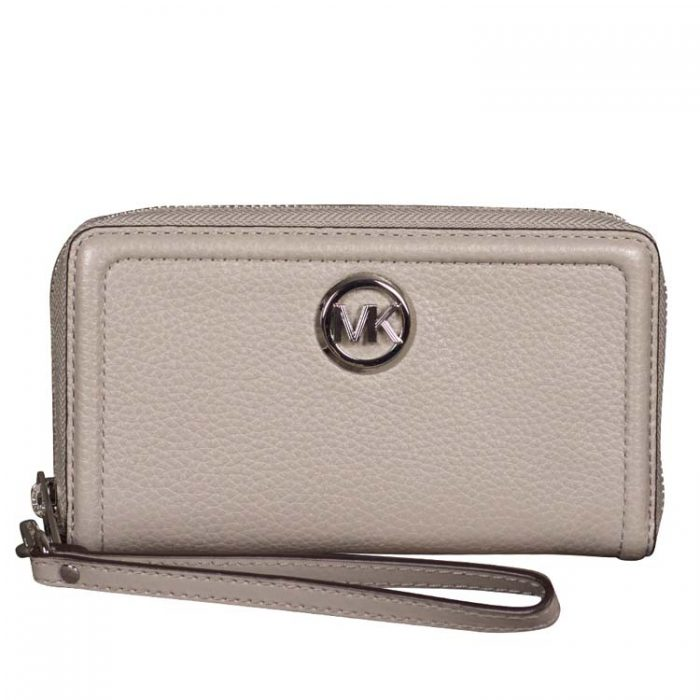 Michael Kors Fulton MF Phone Case in Pearl Grey