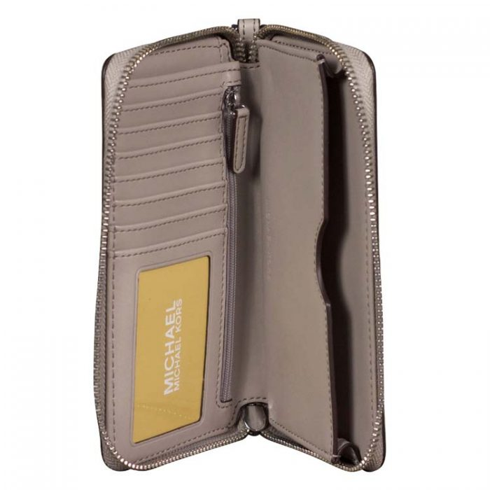 Michael Kors Fulton MF Phone Case in Pearl Grey