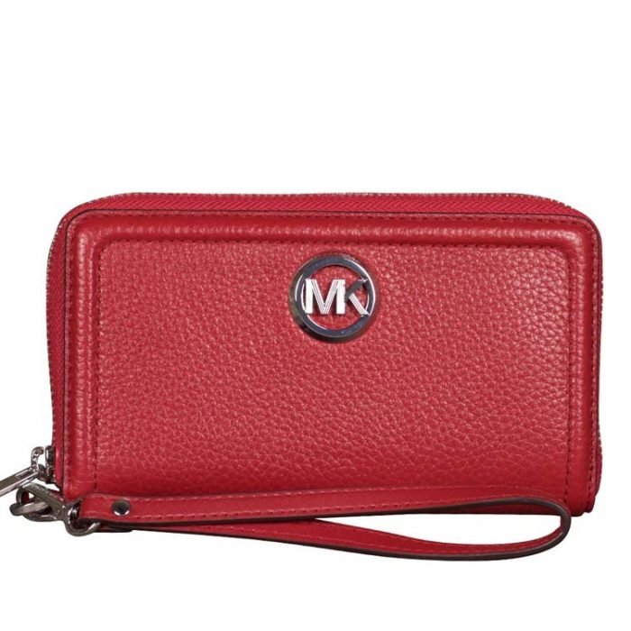 Michael Kors Fulton MF Phone Case in Scarlet