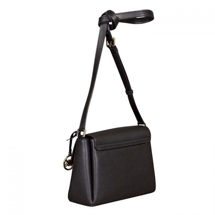 Michael Kors Small Addison Messenger Bag in Black