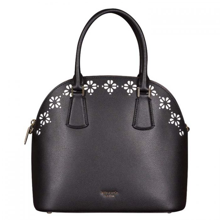 Kate Spade Large Sylvia Perforated Dome Satchel