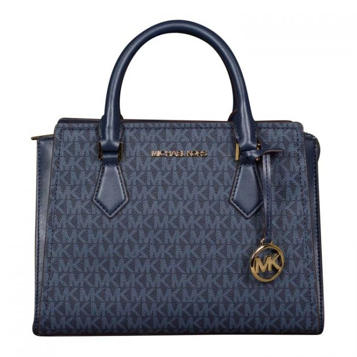 Michael Kors Medium Hope Messenger in Admiral