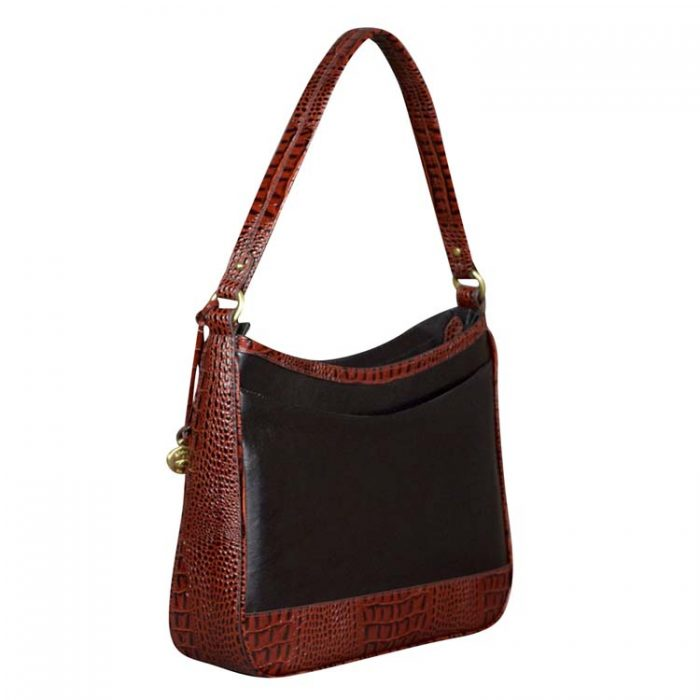 Brahmin Noelle Shoulder Bag in Black Quincy