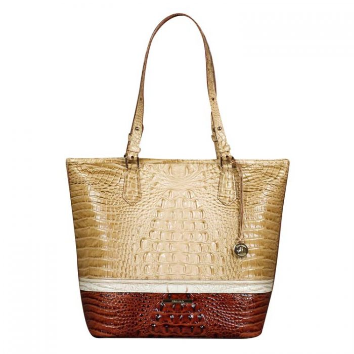 Brahmin Asher Tote in Honeycomb Leroy