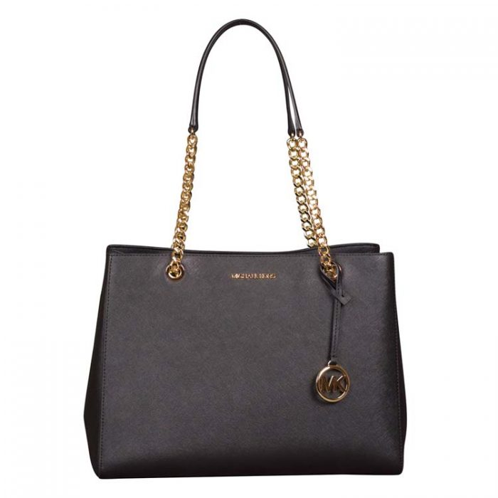 Michael Kors Large Susannah EW Tote in Black