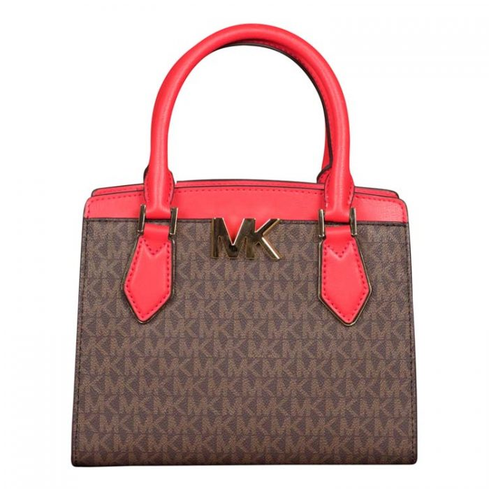 Michael Kors Medium Mott Messenger in Coral Reef